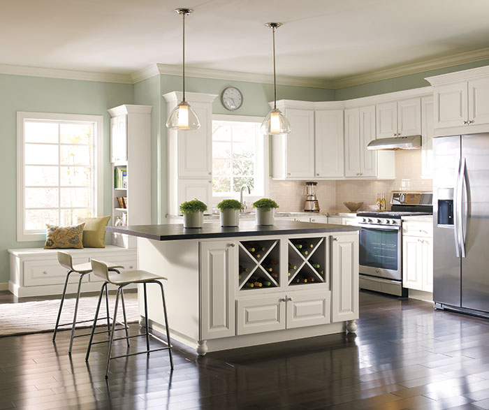 Black Painted Kitchen Cabinet Ideas: Off White Painted Kitchen Cabinets